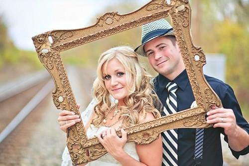 des cadres photos de mariage tr s originaux blogueuse mariage mode lifestyle. Black Bedroom Furniture Sets. Home Design Ideas