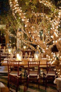 décoration lumière mariage