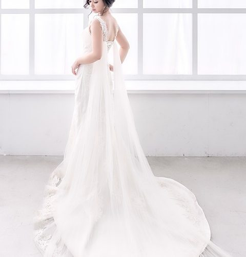 robe traine mariée accessoires