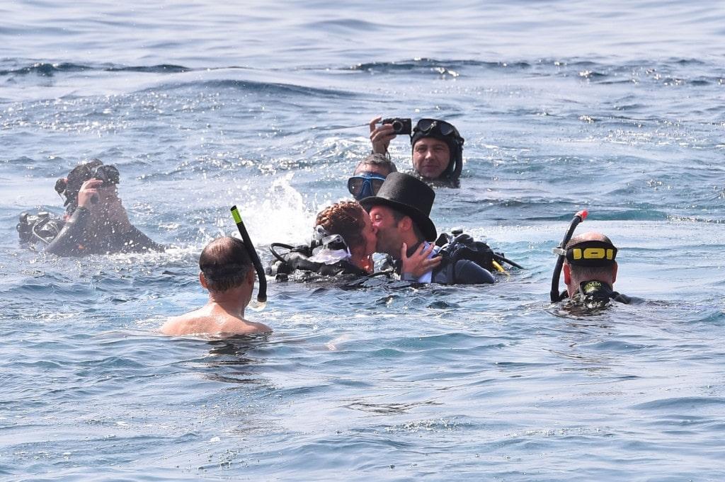 Mariage Monaco Sous l'eau
