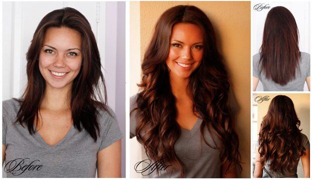 cheveux extention