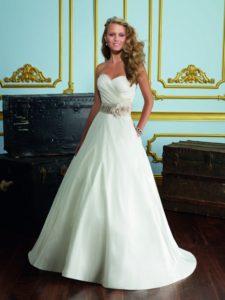 robe de marié pour petite taille