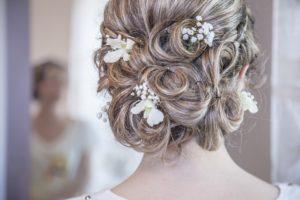 accessoires cheveux mariée chignon