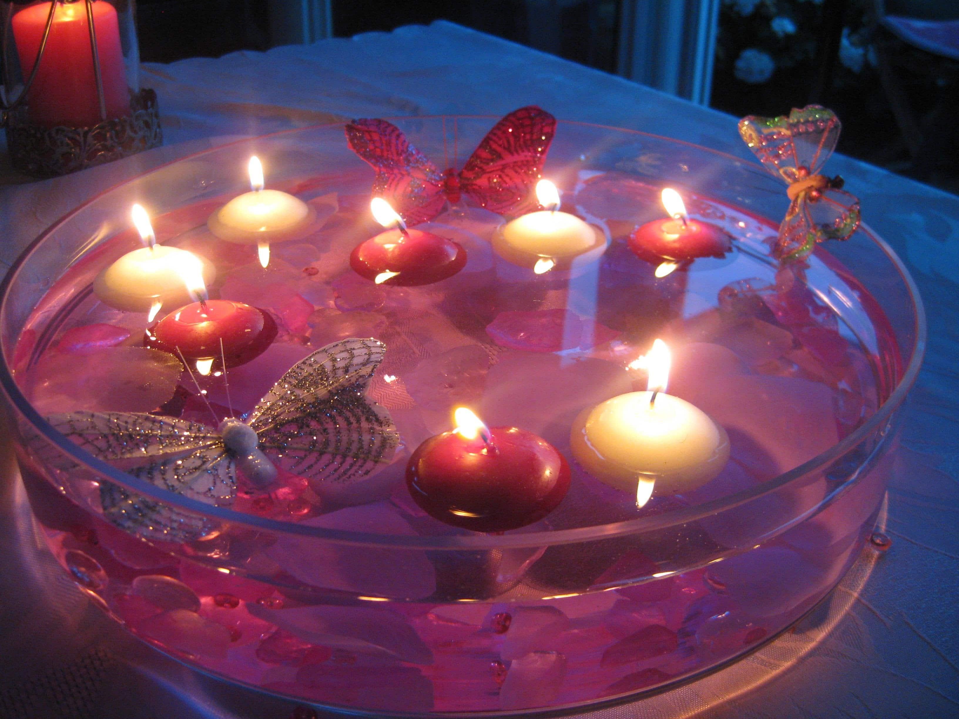 Bougie Décoration De Table utiliser des bougies led pour sa déco de mariage – blogueuse